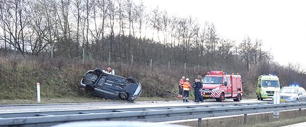 Spejlglatte veje flere steder i Nordjylland