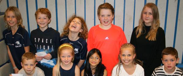 Børn og voksne hyggede til Sjov Fredag