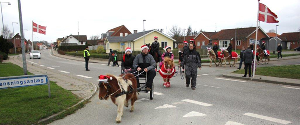 Jul i hele Voerså by<br>…