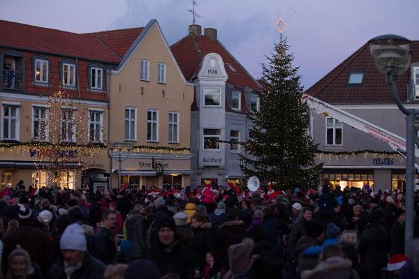 Så blev det atter jul i Sæby<br>…