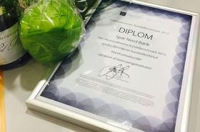 Spar Nord diplom for mest tilfredse kunder copy