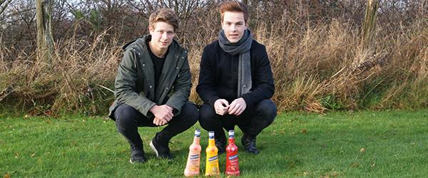 Nordjyske kammerater bringer likørsucces til Danmark