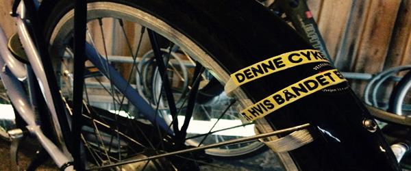 Herreløse cykler fjernes hvis båndet ikke brydes