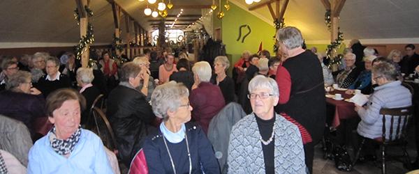 Aktive Kvinder i Sæby på juletur…