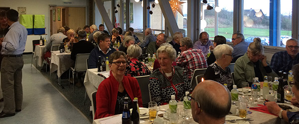 Festlig afslutning for de 79 seniorer hos Firmaidræt Sæby