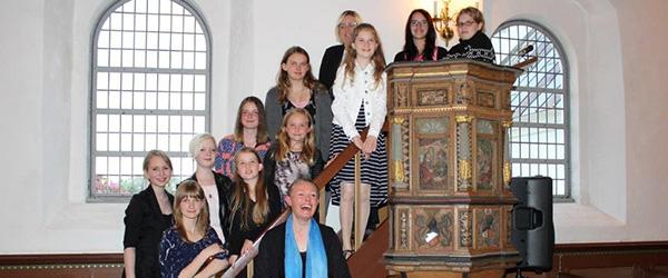 Jule – kirke – café i Albæk kirke<br>…