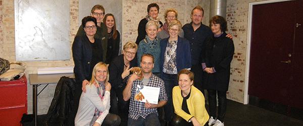 Rasmus Østergaard fra Sæby blev årets sidste prismodtager