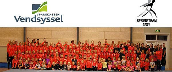 Sparekassen Vendsyssel ny hovedsponsor i springteam Sæby