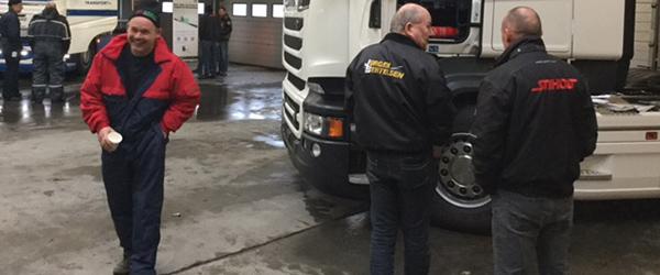 GRØNs AMU Center inviterer vognmænd på skolebænken