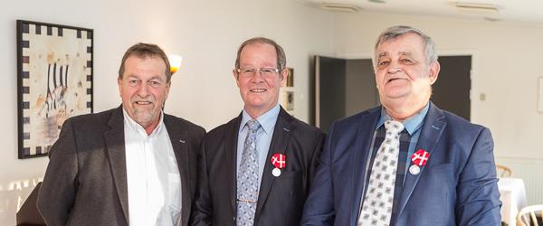 Fortjenstmedaljer til to medarbejdere på Danish Crown