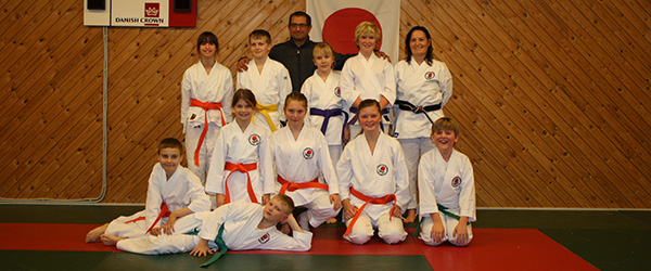 Sæby Karate Klub afholdt graduering inden juleferien
