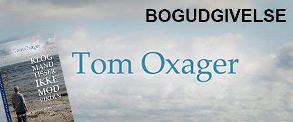 Tom Oxager er på gaden med endnu en bog