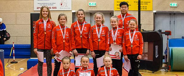 17 medaljer til Springteam Sæby ved Springcup Nord