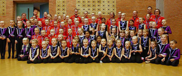 Springteam Sæby vandt 8 medaljer ved VM