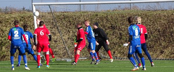 Skjolds jyllandsseriehold vandt 2-1 i Hjørring