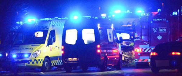 19-årig kvinde er død efter trafikuheld