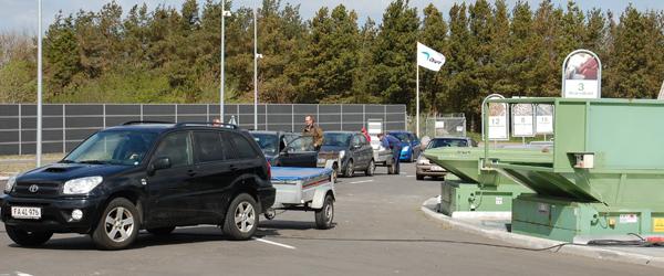 Udvidet åbningstid på genbrugspladserne
