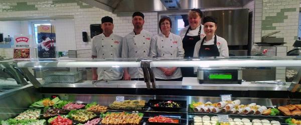 Ny slagter og delikatesse afdeling i Meny