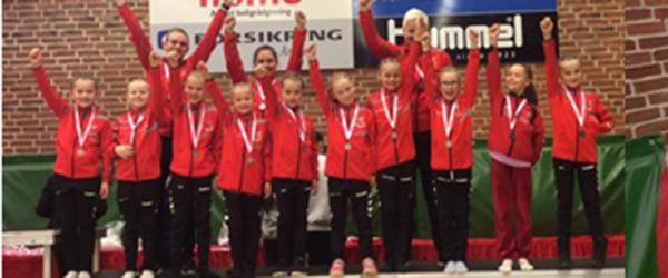 Jysk Mesterskab – sølv og bronze i 1. division