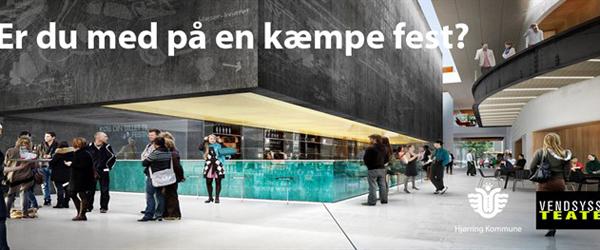 Vendsyssel Teater inviterer hele Vendsyssel til workshop