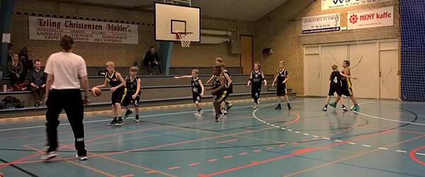 Basketball: U-14 drenge til Lystrup Cup 2018