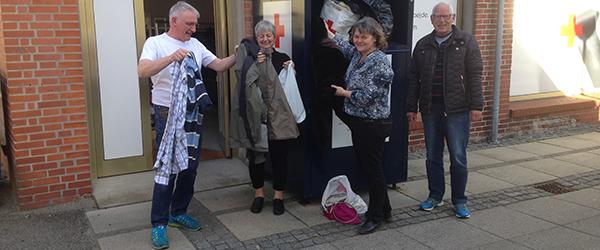 Smid tøjet i Sæby og omegn og hjælp folk i nød