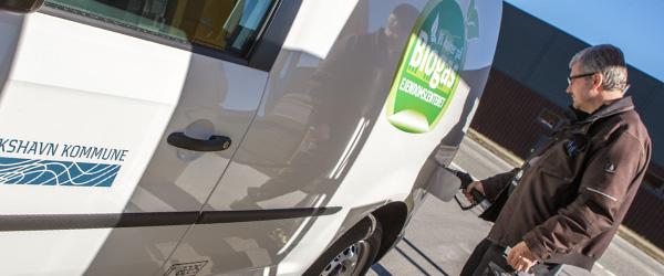 Frederikshavn Kommune kører på biogas