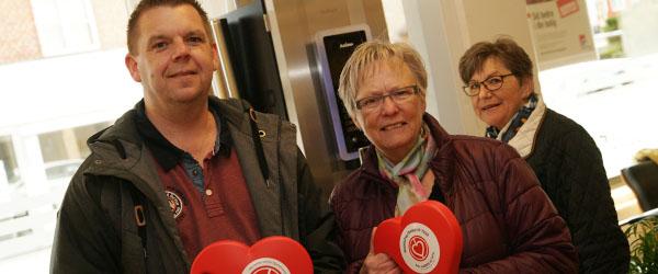 Hjerteforeningen indsamlede 45.430 kr. i Sæby