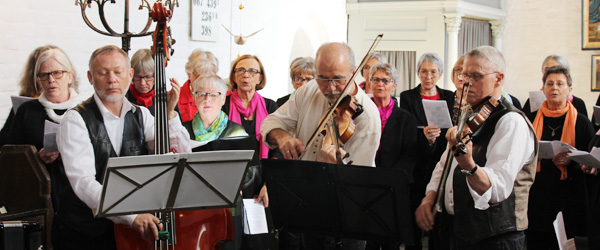 Festlig spillemandsmesse i Sæby Kirke