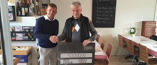 Sæby Golfklub får 50.000 kr. af Nordeafonden