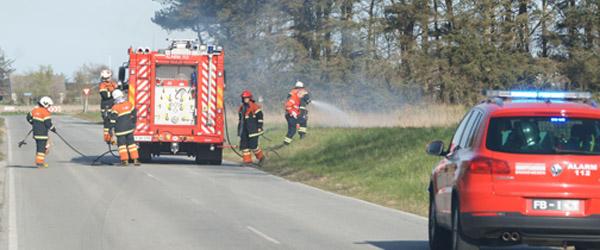 Mindre naturbrand nær Lyngså…