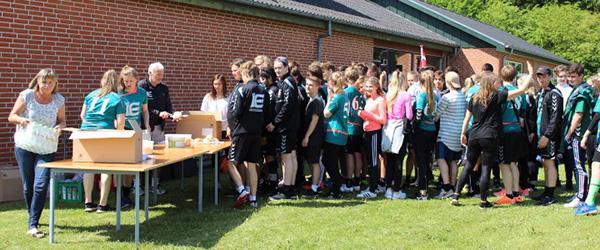 600 efterskoleelever til idræt og hygge