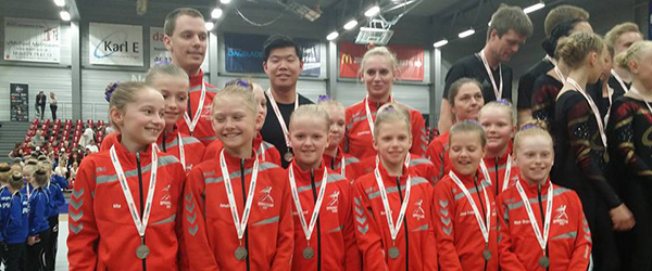 DM guld og sølv til Springteam Sæby
