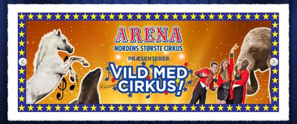 De vandt billetter til Cirkus Arena i Sæby
