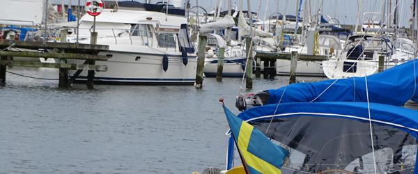 De første sejlende gæster<br> er kommet i havn