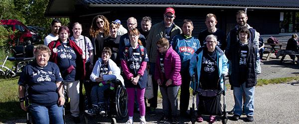Aktiviteten i Sæby deltog i Tour de Skagen