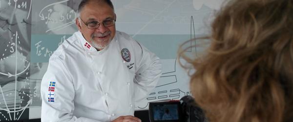Kokkenes præsident laver<br> mad til Taffelmusik i Sæby