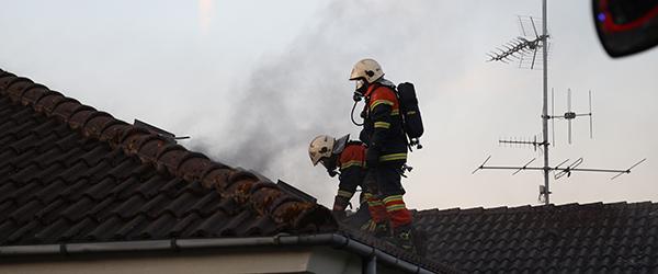 Brand i villa på Drachmannsvej i Sæby