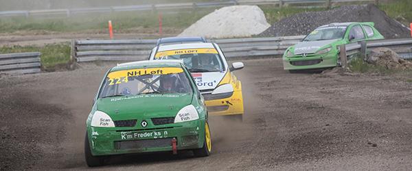 Frederikshavn Sæby autosport ligger godt i det samlede DM