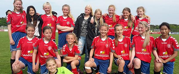Skjold Sæby har ungdomshold<br> i flere mesterrækker
