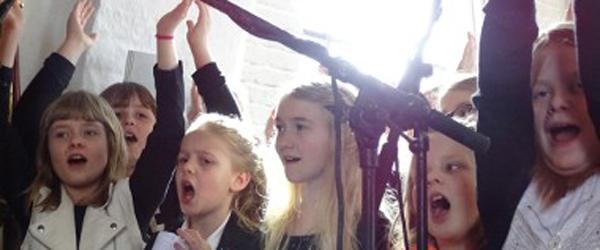 Koncert torsdag med<br> Sæby Kirkes børnekor