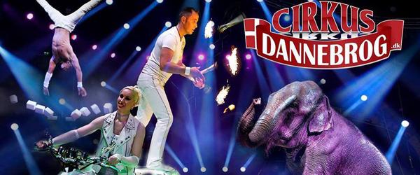 Vind billetter til Cirkus<br> Dannebrog i Vendsyssel