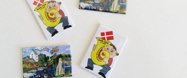 Støt Musikkorps Sæby<br> ved at købe flot magnet