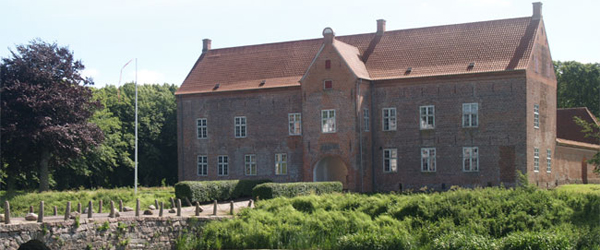 Vivi Dybdahl holder båltalen<br> på Sæbygaard Slot