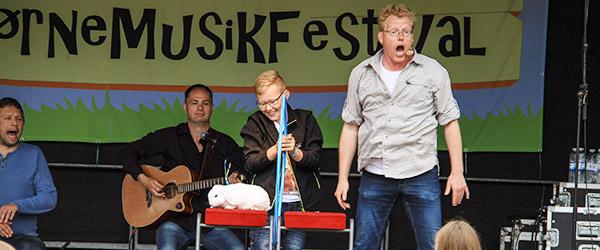 Tag hele klassen med til Hørby BørneMusikFestival