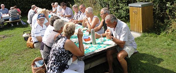 Køretur ud i det blå med Sæby Pensionist og Efterlønsklub