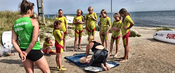 En uge med Ocean Resque Camp er overstået i Sæby