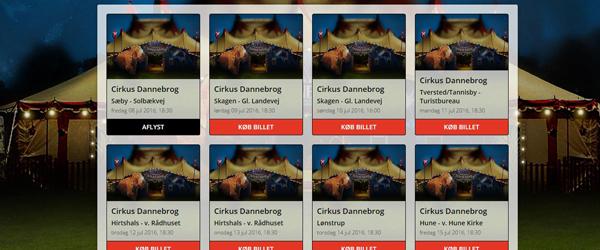 Cirkus Dannebrog aflyser<br> forestillingen i Sæby