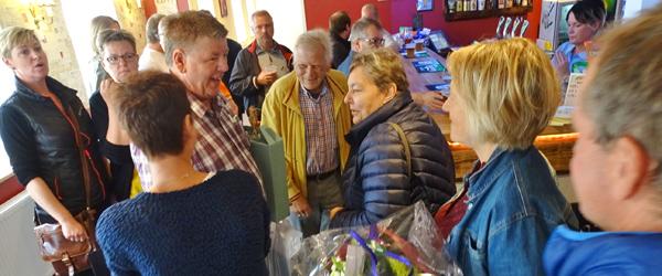 Sæby Sportscafé havde<br> mange gæster til åbning