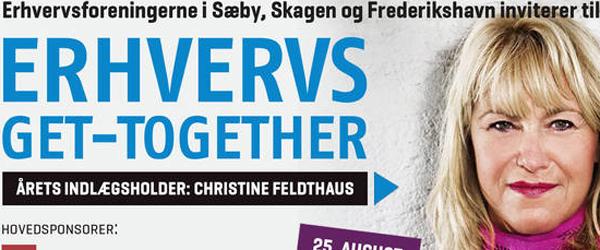 Erhvervsforening bag møde<br> med Christine Feldthaus